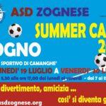 CAMP ZOGNESE 2021 dal 19 al 30 luglio