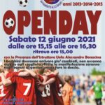 Open day  sabato 12 giugno alle ore 15,15 per tutti i Bambini a cui piace giocare a Calcio nella Zognese